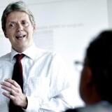 Nordeas Cheføkonom Helge Pedersen mener, at manglende tysk optimisme i industrien kan påvirke den danske ditto.