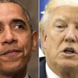 Trump har allerede taget de første skridt til et opgør med Barack Obamas klimaarv. I sit første forslag til et nyt budget er miljøet og klimaet den helt store taber AFP PHOTO AND POOL / NICHOLAS KAMM AND ATEF SAFADI. (Foto: NICHOLAS KAMM, ATEF SAFADI/Scanpix 2017)