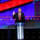 For en gangs skyld blev den republikanske debat holdt over bæltestedet.
