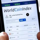 Investorer skal se sig rigtigt godt for, når de sætter penge i Initial Coin Offering-kryptovalutaer. Arkivfoto: Nhac Nguyen/AFP/Scanpix
