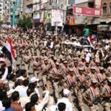 FN's Menneskerettighedsråd har besluttet at sende eksperter til Yemen, hvor de skal undersøge, om der sker krigsforbrydelser. Reuters/Anees Mahyoub/arkiv