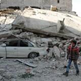 Billede fra byen Douma i Østghouta.