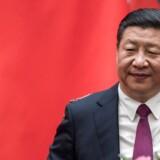 Kinas præsident Xi Jinping.