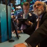 Arkivfoto. De amerikanske aktier er startet meget tæt på udgangspunktet mandag, hvor der ikke længere er regnskaber i kalenderen til at sætte dagsorden.