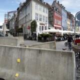 I København er der allerede blevet opsat betonklodser og andre former for afspærringer flere steder i byen