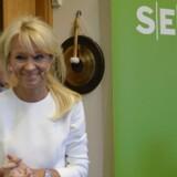 Topchef i svenske SEB Bank, Annika Falkengren siger farvel.