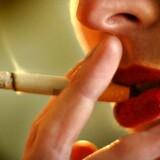 ARKIVFOTO: Børn af mødre, der har røget under graviditeten har færre synsnerver end andre børn.