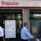 Banco Popular i Madrid.
