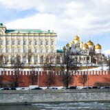 Danmarks ambassadør i Rusland er indkaldt til møde i det russiske udenrigsministerium.. / AFP PHOTO / Mladen ANTONOV