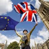 Mange tusind mennesker demonstrerede imod Brexit i weekenden.