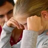 Barnets trivsel skal fylde mere, når mor og far bliver skilt, mener regeringen, som tirsdag præsenterer et udspil til et nyt skilsmissesystem. Free/Colourbox/arkivfoto