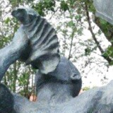Skulpturen Freedom, som er en gave til Danmark fra De Vestindiske Øer.