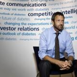 Novos kommunikationsdirektør, Mike Rulis, vil ikke forholde sig til, om det danske medicinalskab er på vej med en kæmpe fyringsrunde.