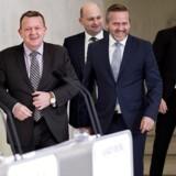 Nyt regeringsgrundlag præsenteres på Marienborg .Anders Samuelsen. (Foto: Keld Navntoft/Scanpix 2016)