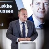 ARKIVFOTO: Statsminister Lars Løkke Rasmussen taler ved Europadagen, arrangeret af Tænketanken EUROPA hos Dansk Metal i København, onsdag den 9. maj 2018.