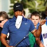 Arkivfoto. Tiger Woods blev mandag arresteret, mistænkt for at have kørt bil i påvirket tilstand.