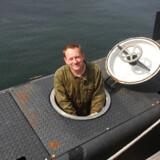 Ubådsentusiasten Peter Madsen blev lørdag varetægtsfængslet i 24 dage for uagtsomt manddrab, efter hans ubåd, Nautilus, sank fredag formiddag.Foto: Deadlinepress/ree media