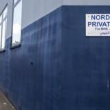 Gadefoto fra Nordvest privatskole.