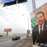 Libanons premierminister, Saad Hariri, meddelte mandag fra Saudi-Arabiens hovedstad, at han trådte tilbage.