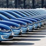 Arkivfoto. EU's konkurrencemyndighed undersøger sagen om et påstået kartel blandt en gruppe tyske bilproducenter. Det kan føre til store bøder for virksomhederne.