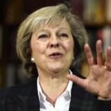 Nej betyder nej! Indenrigsminister Theresa May har meldt sig som kandidat til posten som konservativ premierminister i Storbritannien - og hun vil ikke høre tale om muligheden af at rulle det britiske farvel til EU tilbage. Foto: Andy Rain