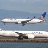 ARKIVFOTO af fly fra United Airlines.