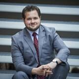 Gruppeformand for Dansk Folkeparti i Europaparlamentet, Anders Vistisen. Fotograferet ved Dansk Folkeparti Årsmøde 2016.
