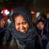 Najamo Dahirs fætter blev skudt og dræbt tirsdag aften på Tagensvej. Nu kræver hun alle bandemedlemmer udvist af Danmark. (Foto: Claus Bech/Scanpix 2017)