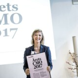 Årets CMO 2017 er Jeanette Fangel Løgstrup, CMO i Danske Bank.
