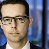 Inden han gjorde karriere i Danske Bank, tilbragte Jacob Aarup-Andersen et årti i den britiske finanssektor. Nu bliver han spået til at være en af kronprinserne i Danmarks største bank – hvis der ikke lige var ét problem.
