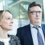 Billeder af Jakob Baruël Poulsen og Christina Grumstrup, der begge er seniorpartnere i Copenhagen Infrastructure Partners.De har fem års fødselsdag og vil fortælle om deres forretning, hvor de har 46 mia. kr. under forvaltning. Jakob Baruël Poulsen og tre andre tidligere DONG/Ørsted-folk blev i sin tid kendt som Guldfuglene.