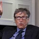 Bill Gates, som i dag snart er helt ude af Microsoft, mener, at Apple bør hjælpe FBI med at knække koden på en beslaglagt iPhone-telefon. Arkivfoto: Shannon Stapleton, Reuters/Scanpix