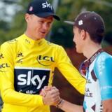 Chris Froome går hårdt efter at vinde Vueltaen for første gang i karrieren. Reuters/Charles Platiau