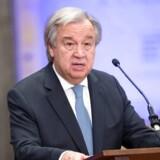 FN-generalsekretær António Guterres.