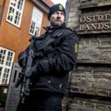 Østre Landsret afslutter i dag terrorsagen mod en pige fra Kundby. I Retten i Holbæk blev hun kendt skyldig i terrorsigtelsen og idømt fængsel i seks år (Foto: Mads Claus Rasmussen/Scanpix 2017).