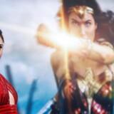 Gal Gadot spiller den stærke superhelt Wonder Woman. Der var dog ikke meget kvindefrigørelse over indholdet af de goodie bags, som det kvindelige publikum fik til en visning af filmen i Holland.