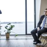 Erhvervsminister Brian Mikkelsen (K) vil have dataetik på dagsordenenpræsenterer. Foto: Thomas Lekfeldt
