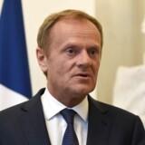 EU-præsident Donald Trusk advarer England om »at forlade EU uden en fast exit-aftale«.