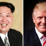 »Men én ting er stærkt bekymrende. Det er Kim Jong-uns og den amerikanske præsident, Donald Trumps reaktioner undervejs i dette konflikt-forløb.«