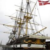 ARKIVFOTO. Fregatten Jylland.
