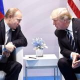 Trump mødes med Putin, og mødet gik tilsyneladende over forventning. / AFP