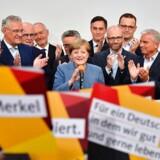 Det er overfortolkning at tale om et opbrud i tysk politik, skriver tysk avis om udfaldet af søndagens valg.
