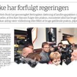 Berlingske den 7. april: Niels Busk går i rette med avisens dækning af sagen om Landbrugspakken. »Venstre påstår, at det er i orden, at beregningerne var forkerte, fordi der findes et notat, der i bevidst uforståeligt sprog nævner den forkerte metode. Det er et absurd synspunkt. Ministre skal give retvisende oplysninger,« skriver Kenneth Birkholm.