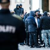 Københavns Byret mandag den 9. oktober 2017. LTFs selverklærede leder, Shuaib Khan, blev idømt tre måneders fængsel, en bøde på 12.000 kroner samt en betinget udvisning med en prøvetid på to år for trusler mod en betjent. (Foto: Scanpix 2017)