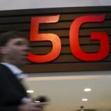 Svenske Ericsson har på et 5G-testnet formået at overføre data med en hastighed på fem gigabit i sekundet, altså mere end 5.000 megabit eller omkring 500 gange hurtigere end normal datahastighed på mobilnettene i dag. Foto: Albert Gea/Reuters