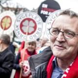 Anders Bondo Christensen fra Danmarks Lærerforening ankommer til forhandlinger i Forligsinstitutionen i København. (ARKIV) (Foto: Mads Claus Rasmussen/Ritzau Scanpix)