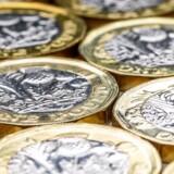 Det britiske pund er fortsat i et lavt niveau torsdag.
