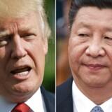 US President Donald Trump and Chinese President Xi Jinping / AFP PHOTO / MANDEL NGAN AND NICOLAS ASFOURI