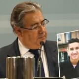 Den terrormistænkte marokkaner Younes Abouyaaqoub er angiveligt blevet anholdt.EPA/J.J. GUILLEN