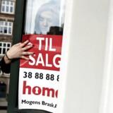 I gennemsnit blev der i 2017 solgt boliger for omkring 5.500 kroner i sekundet - eller 476 millioner kroner i døgnet, viser ny opgørelse fra Boligsiden.dk. Akrivfoto: Mathias Bojesen/Scanpix 2017